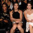 Gabby Douglas, Kyla Ross et McKayla Maroney aux MTV Video Music Awards en septembre 2012
