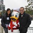 Jean-Pierre Pernaut et Nathalie Marquay, avec Donald