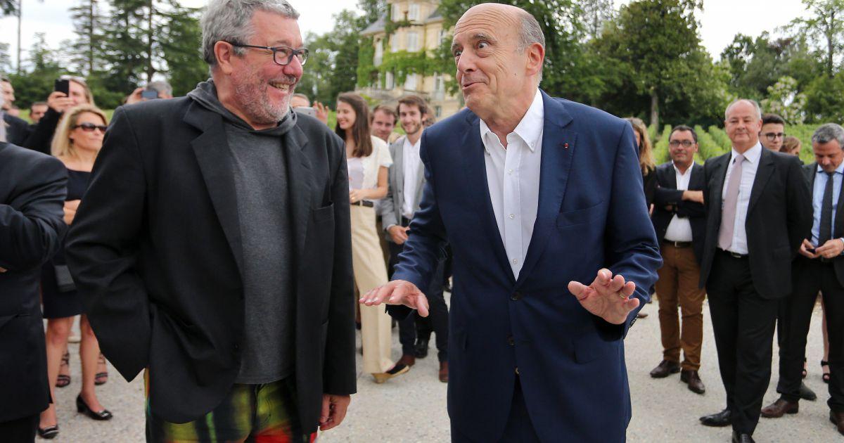 Philippe starck et alain jupp inauguration du nouveau chai du ch teau les - Enfants philippe starck ...