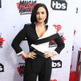 Demi Lovato à la soirée des iHeartRadio Music Awards à Inglewood, le 3 avril 2016.