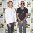 """Wentworth Miller et Dominic Purcell - Photocall de la série """"Prison Break"""" lors du Comic Con de San Diego. Le 24 juillet 2016 © Future-Image / Zuma Press / Bestimage"""