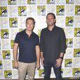 """Vaun Wilmott et Michael Horowitz - Photocall de la série """"Prison Break"""" lors du Comic Con de San Diego. Le 24 juillet 2016 © Future-Image / Zuma Press / Bestimage"""