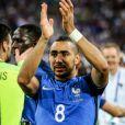 """Dimitri Payet lors de la demi-finale de l'Euro 2016 """"France - Allemagne"""" au stade Vélodrome à Marseille, le 7 juillet 2016. © Cyril Moreau/Bestimage"""