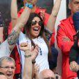 Rebekah (Becky) Vardy, femme de Jamie Vardy, lors du match entre l'Angleterre et le Pays de Galles à Lens lors de l'Euro 2016, le 16 juin 2016. © Cyril Moreau/Bestimage