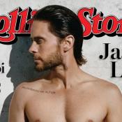 """Jared Leto, 44 ans : Torse nu en couverture de """"Rolling Stone""""... Canon !"""