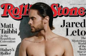 Jared Leto, 44 ans : Torse nu en couverture de