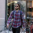 Jared Leto se promène dans les rues de New York, le 27 juillet 2016.