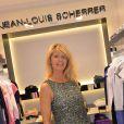 Lynda Lacoste - Inauguration de la nouvelle boutique Jean-Louis Scherrer au 111, rue du Faubourg-Saint-Honoré à Paris, le 19 juin 2014.