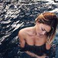 Caroline Receveur sur Instagram, dévoile ses vacances à Bali, juillet 2016