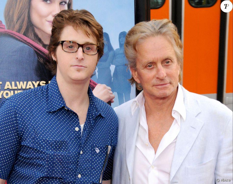 Michael Douglas et Cameron Douglas à Hollywood, Los Angeles, le 27 avril 2009.