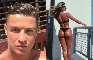Cristiano Ronaldo : Moments câlins avec la bombe au fessier star Cassandre Davis