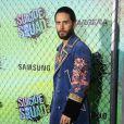 """Jared Leto - Première du film """"Suicide Squad"""" à New York le 1er août 2016."""