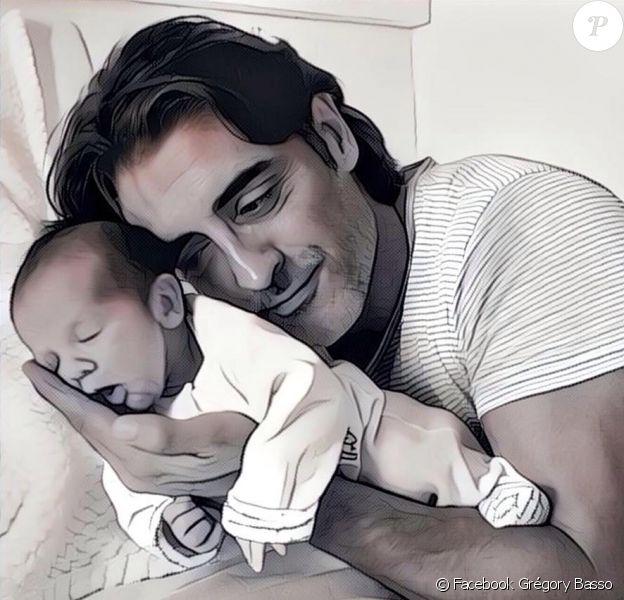 Grégory Basso, papa d'un petit Livio depuis juillet 2016.