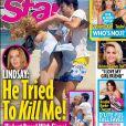 Lindsay Lohan et Egor Tarabasov se disputent lors d'un séjour en Grèce où elle a fêté ses trente ans, au début du mois de juillet 2016.
