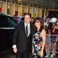 John Travolta et sa femme Kelly Preston arrivant au 90e anniversaire de Tony Bennett à New York, le 3 août 2016. © CPA/Bestimage
