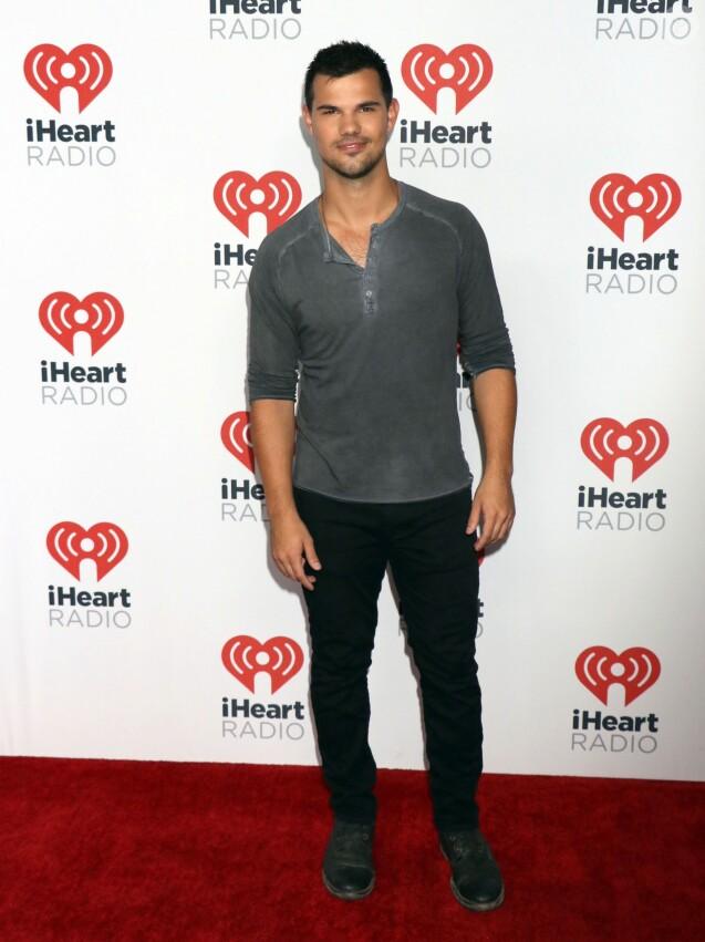 Taylor Lautner au 1er jour du Festival de musique de iHeartRadio à Las Vegas, le 18 septembre 2015