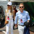 Ronan Keating et sa femme Storm Keating lors du Grand Prix de Formule 1 de Monaco, le 28 mai 2016. © Bruno Bebert/Bestimage