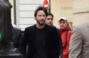 REPORTAGE PHOTOS : Quand Keanu Reeves et Benicio Del Toro... s'amusent à Paris !