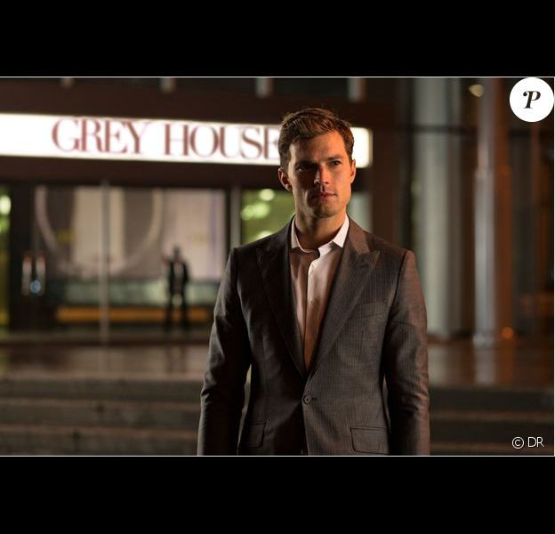 "Jamie Dornan, 34 ans, dans le role de Christian Grey dans le film ""50 Shades of Grey"" (2015)."