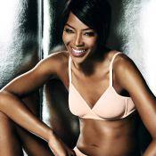 Naomi Campbell : 46 ans, torride en lingerie