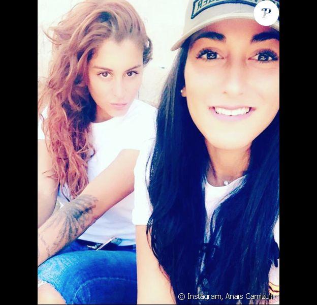 Anaïs (Secret Story 7) et sa soeur Manon sur Instagram, août 2016.