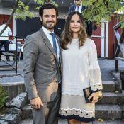 Carl Philip et Sofia de Suède : Complices avant le baptême d'Alexander