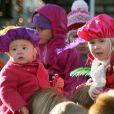 La famille princière des Pays Bas accueillent Santa Claus, le 22/11/08