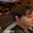 """Isabelle, prétendante de Bernard - """"L'amour est dans le pré 2016"""" sur M6. Le 29 août 2016."""
