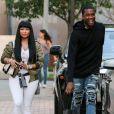 Nicki Minaj et son compagnon Meek Mill font du shopping chez Barney à Los Angeles le 16 septembre 2015.
