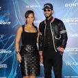 """Alicia Keys et son mari Swizz Beatz à la Première du film """"The Amazing Spider-Man : le destin d'un héros"""" à New York. Le 24 avril 2014"""