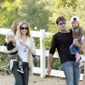 Charlie Sheen, son ex Denise Richards et leurs filles enfin réunis et complices