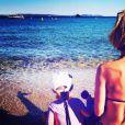 Sylvie Tellier et sa fille Margaux sur Instagram, août 2016