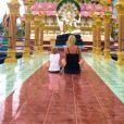 Amélie Neten et son fils Hugo complices en Thaïlande : Tendre cliché sur Instagram, juin 2016