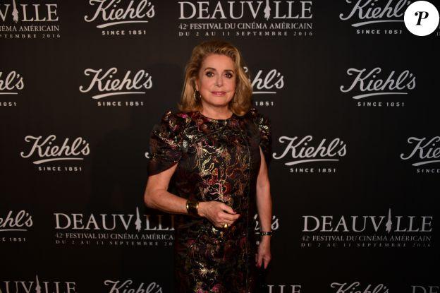 Catherine Deneuve au Kiehl's Club lors du 42ème Festival du Cinéma Américain de Deauville.