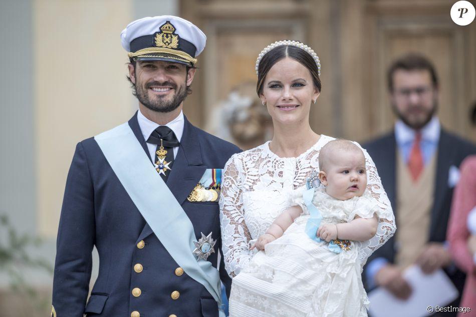 Le prince Carl Philip, la princesse Sofia (Hellqvist) et ...