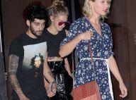 Taylor Swift de sortie avec Gigi Hadid et Zayn Malik: La star tient la chandelle