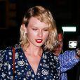 Taylor Swift arrive à l'appartement de Gigi Hadid, le 12 septembre 2016