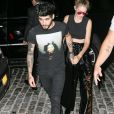 Gigi Hadid rentre chez elle avec son petit-ami Zayn Malik à New York, le 12 septembre 2016