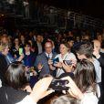 """Exclusif - François Hollande - Représentation de """"La Bohème"""" à l'Hôtel des Invalides dans le cadre du festival Opéra en Plein Air à Paris le 10 septembre 2016. © Rachid Bellak/Bestimage"""