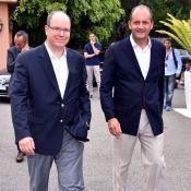 Albert de Monaco et Didier Deschamps, un tandem accro au padel