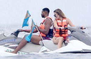 Khloé Kardashian avec son nouveau chéri Tristan Thompson :