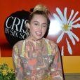 Miley Cyrusà la première de The Crisis in Six Scenes à New York, le 15 septembre 2016