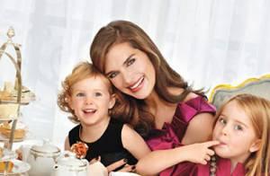 PHOTOS : Brooke Shields, radieuse, vous présente ses deux filles !