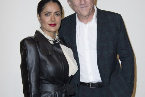 Salma Hayek, divine au bras de son mari, rayonne avec Charlotte Casiraghi