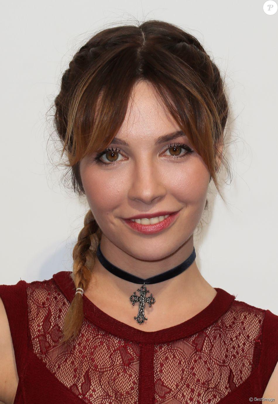 """Alix Bénézech - Photocall du téléfilm """"Nina"""" lors du 18ème Festival de la"""