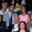 Pippa Middleton et James Matthews à Wimbledon le 6 juillet 2016