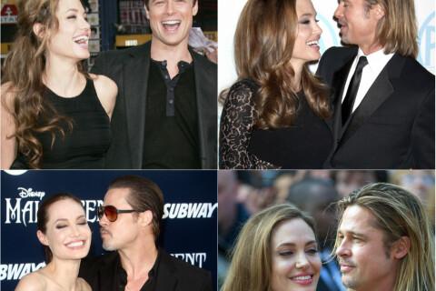 Angelina Jolie-Brad Pitt avant le divorce: Les plus belles photos de leur idylle