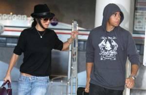 REPORTAGE PHOTOS : Lewis Hamilton perd tous ses moyens au contact de sa chérie Nicole Scherzinger !