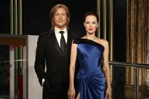 Angelina Jolie et Brad Pitt : Le divorce acté... entre leurs statues de cire