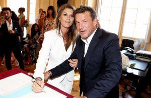 Benjamin Castaldi : Les photos de son mariage avec de rêve avec Aurore Aleman